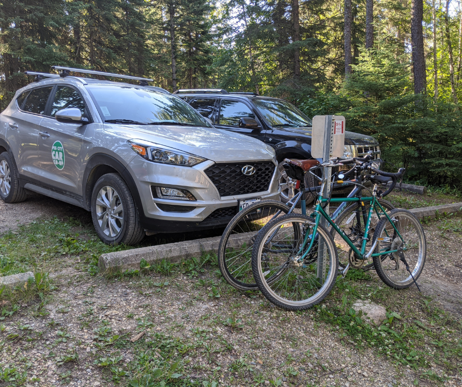 bikes by Peg City's Hyundai Tuscon